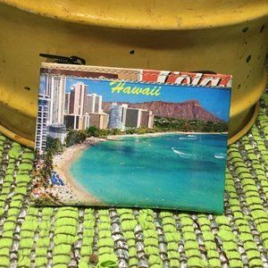 Vintage Aloha Print Coin Purse